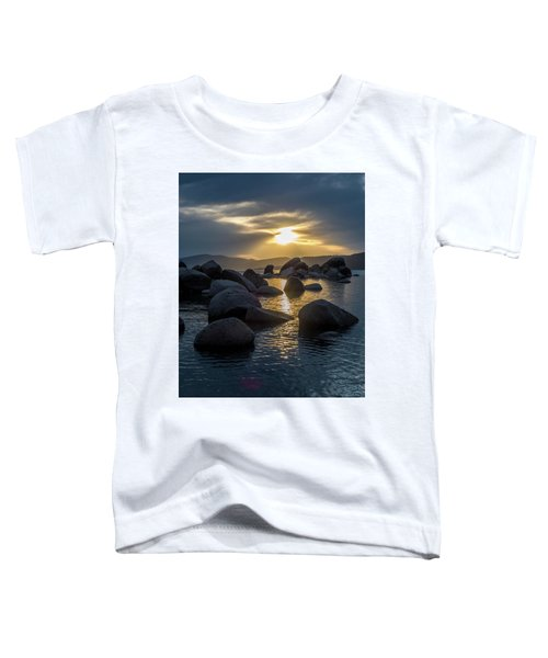 Sand Harbor Light Toddler T-Shirt