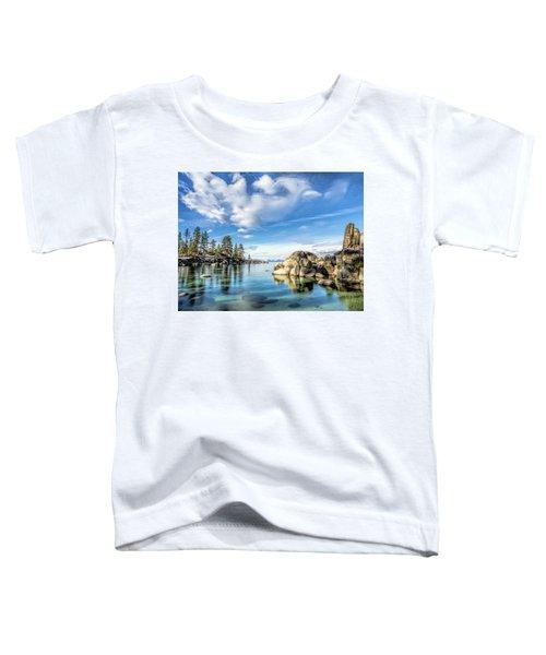 Sand Harbor Morning Toddler T-Shirt