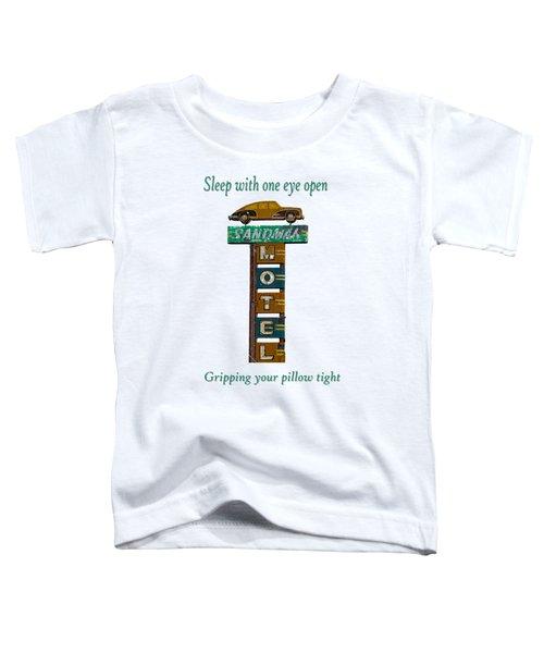 Sandman Motel 2 Toddler T-Shirt