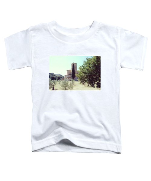 Abbey Of Sant'antimo Toddler T-Shirt