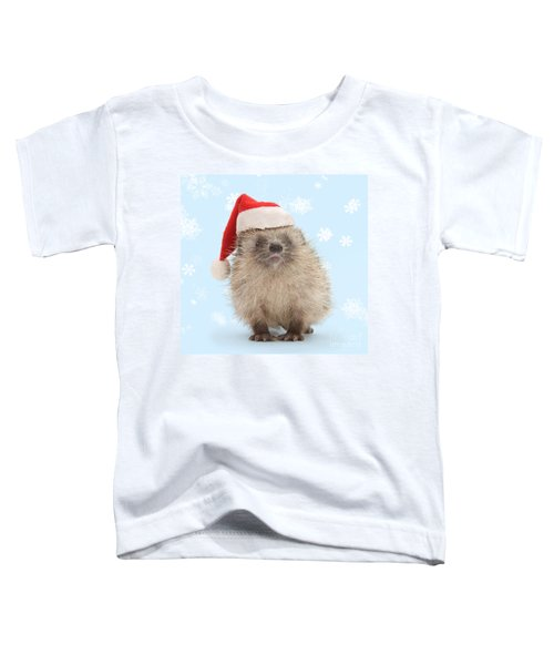 Santa's Prickly Pal Toddler T-Shirt
