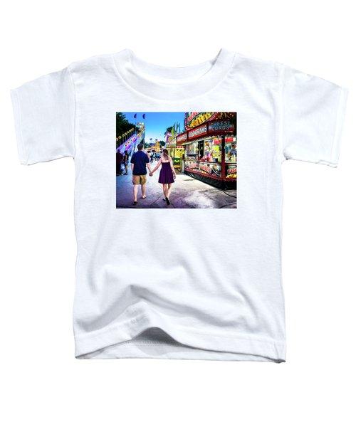 Sara And Drew 30 Toddler T-Shirt