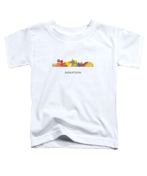 Saskatoon Sask.skyline Toddler T-Shirt