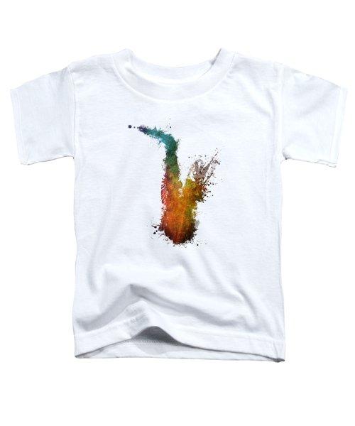 Sax And Sex Saxophone Toddler T-Shirt