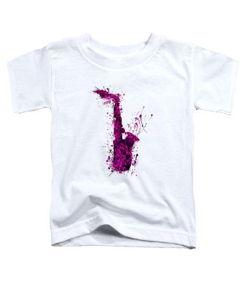 Saxophone Toddler T-Shirt