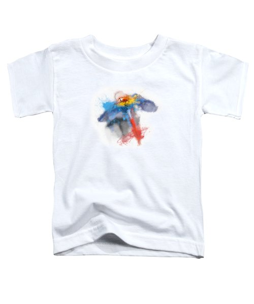 Scarlet Macaw No 03 Toddler T-Shirt