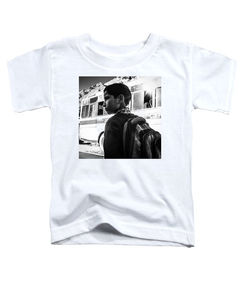 School Boy Toddler T-Shirt