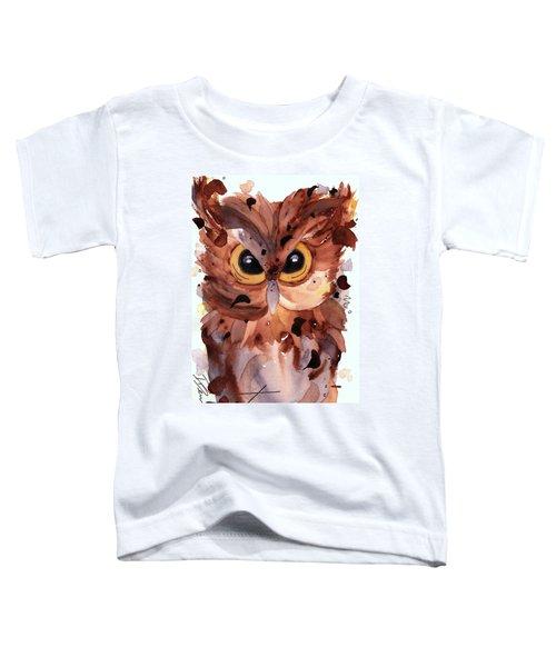 Screech Owl Toddler T-Shirt