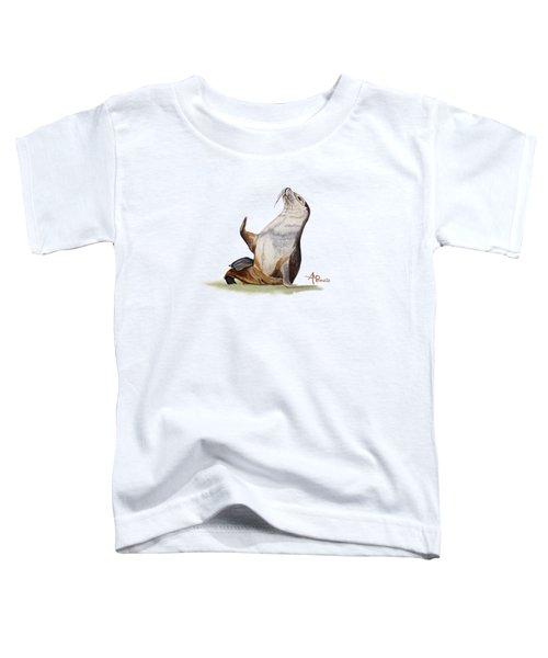 Sea Lion Watercolor II Toddler T-Shirt