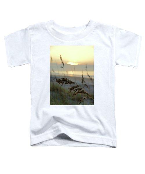 Sea Oats At Sunrise Toddler T-Shirt