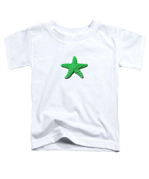 Sea Star Green .png Toddler T-Shirt