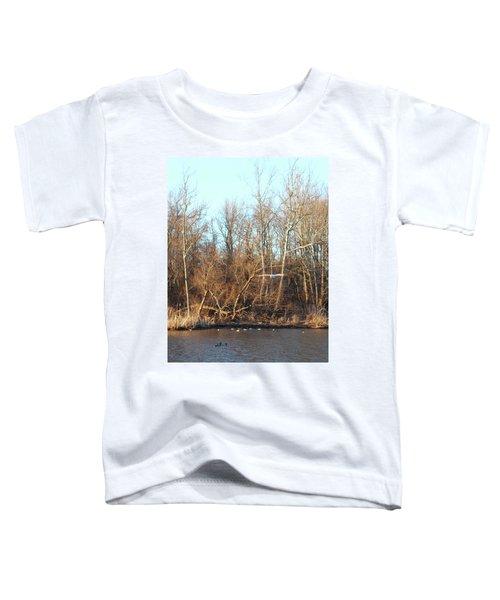 Seagull Flying Toddler T-Shirt