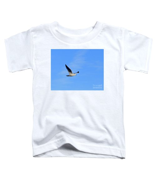 Seagull In Flight Toddler T-Shirt
