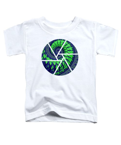 Seahawks Spiral Toddler T-Shirt