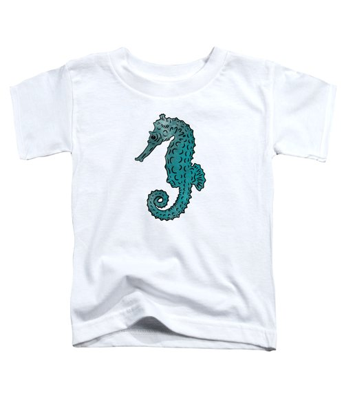 Seahorse Sketch Compilation Toddler T-Shirt