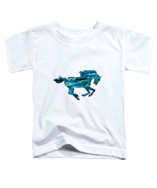 Seahorse By V.kelly Toddler T-Shirt