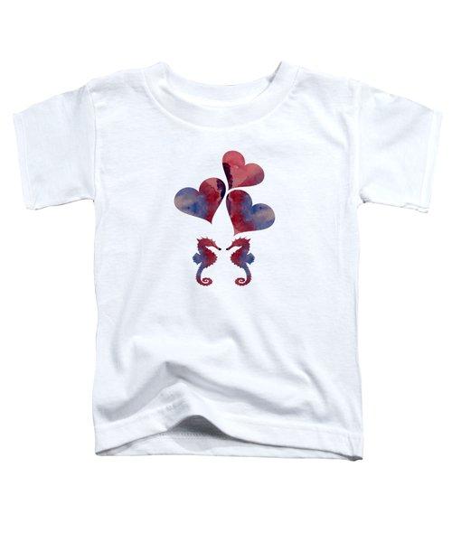 Seahorses Toddler T-Shirt
