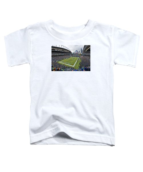 Seattle Seahawks Centurylink Field Toddler T-Shirt