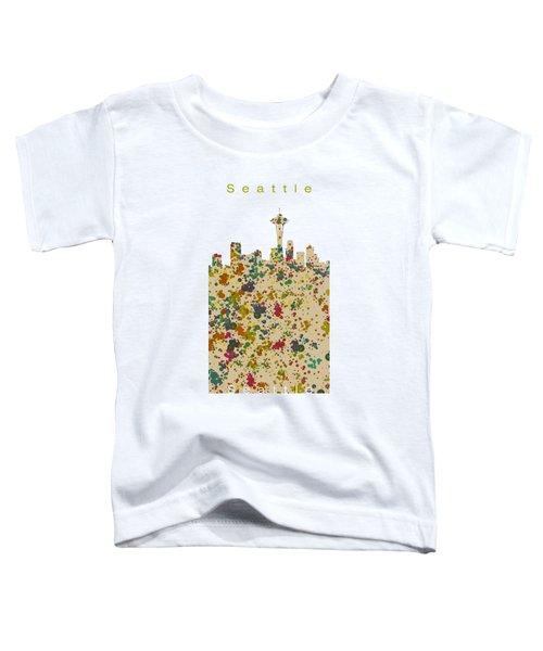 Seattle Skyline.2 Toddler T-Shirt