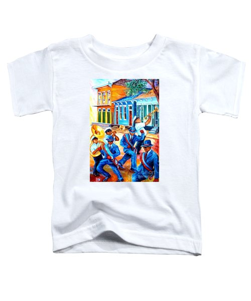 Second Line In Treme Toddler T-Shirt