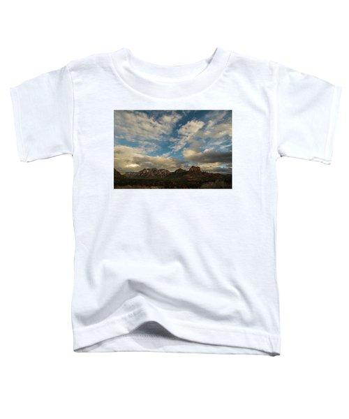Sedona Arizona Redrock Country Landscape Fx1 Toddler T-Shirt by David Haskett