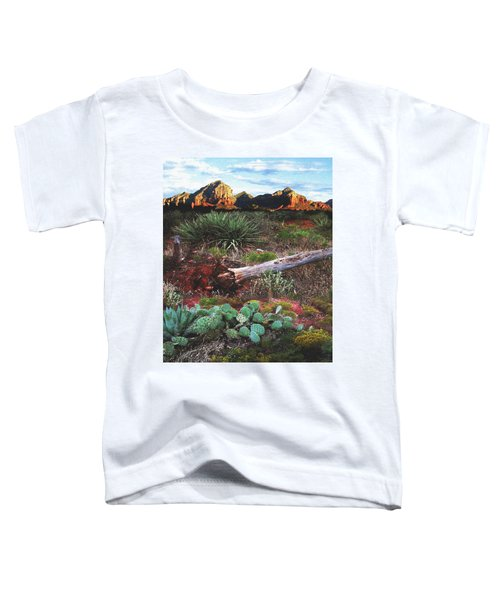 Sedona Mountain Sunrise Toddler T-Shirt