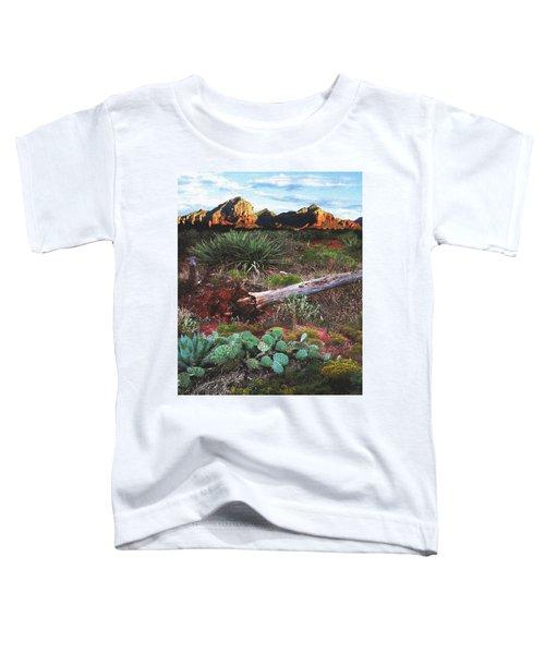 Sedona Mountain Sunrise Toddler T-Shirt