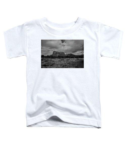 Sedona Red Rock Country Arizona Bnw 0177 Toddler T-Shirt by David Haskett