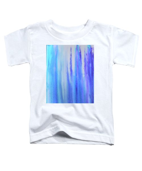 See Blue Sea Toddler T-Shirt by Cyrionna The Cyerial Artist