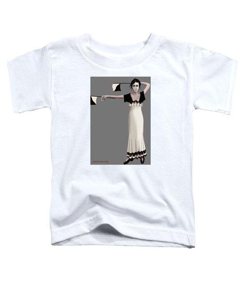 Semaphore Girl Toddler T-Shirt