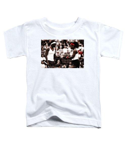 Serena And Venus Williams Toddler T-Shirt
