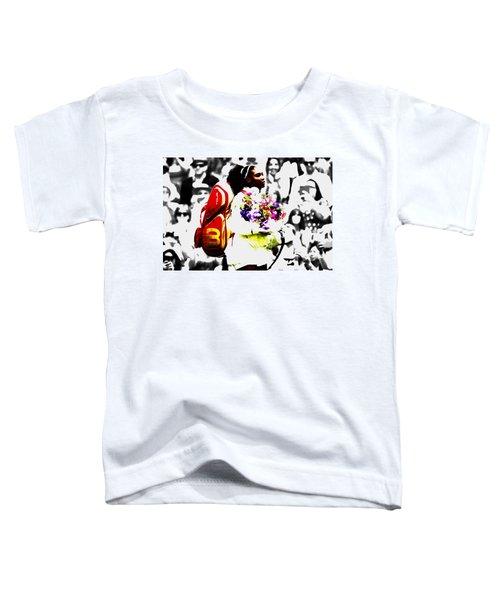 Serena Williams 2f Toddler T-Shirt