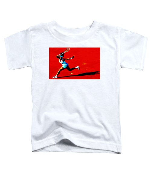Serena Williams Never Give Up Toddler T-Shirt
