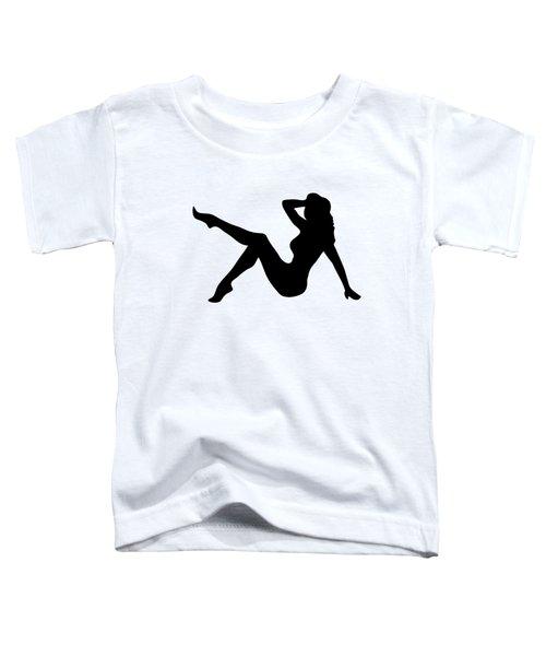 Sexy Trucker Girl Tee Toddler T-Shirt