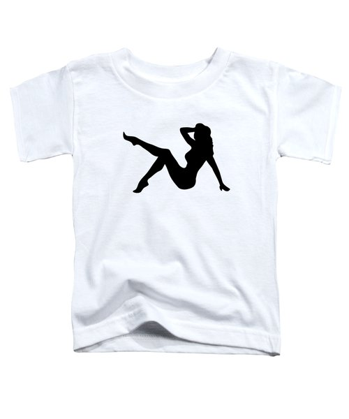 Sexy Trucker Girl Tee Toddler T-Shirt