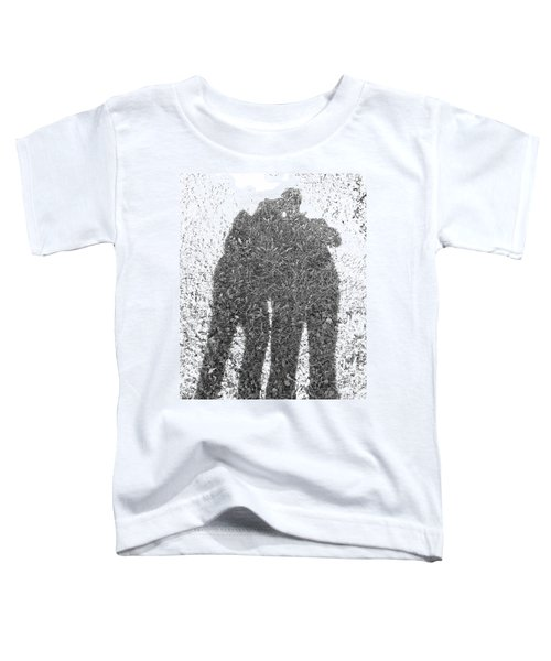Shadow In The Meadow Bw Toddler T-Shirt