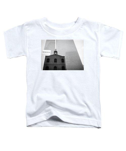 Shadow Of World Trade Center Toddler T-Shirt