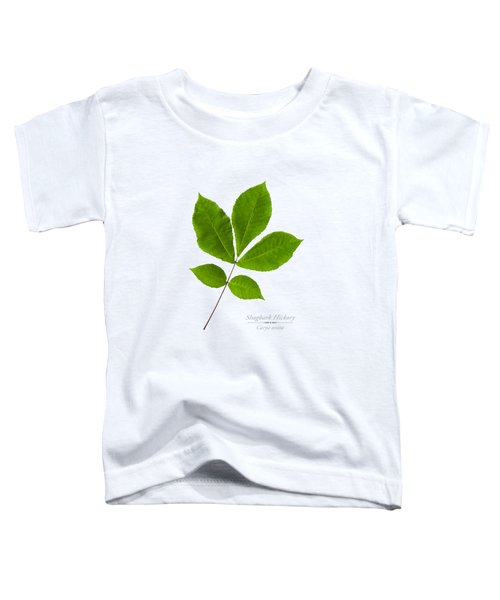 Toddler T-Shirt featuring the photograph Shagbark Hickory by Christina Rollo