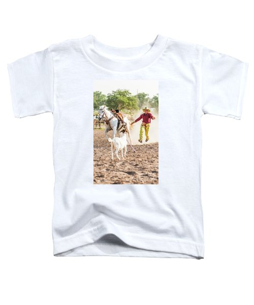 Shawnee Sagers Goat Roping Competition Toddler T-Shirt