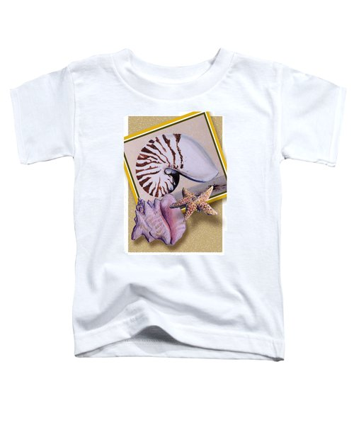 Shell Collage Toddler T-Shirt