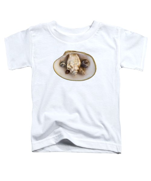 Shells Within A Sea Shell Toddler T-Shirt