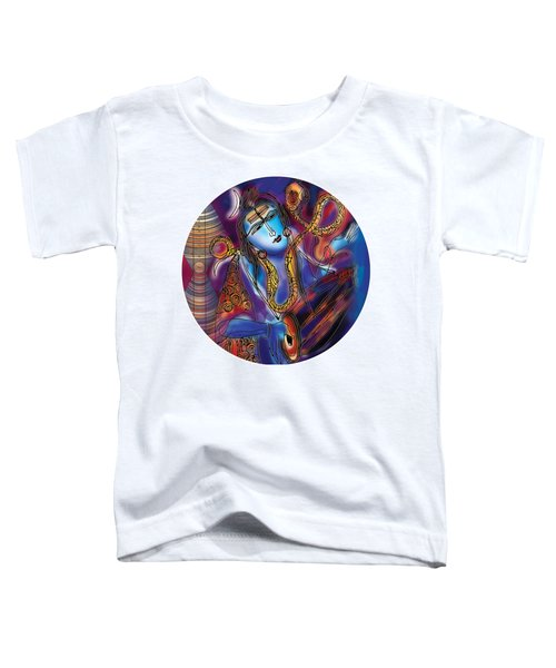 Shiva Playing The Drums Toddler T-Shirt
