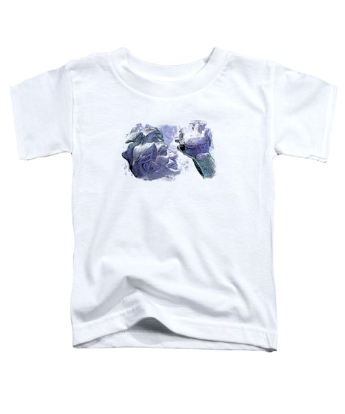 Shoot For The Sky Berry Blues 3 Dimensional Toddler T-Shirt