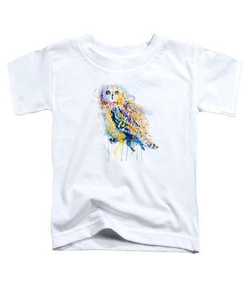 Short Eared Owl  Toddler T-Shirt