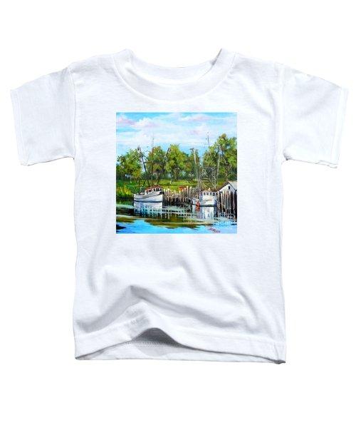 Shrimping Boats Toddler T-Shirt