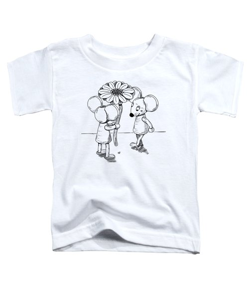Shy Toddler T-Shirt