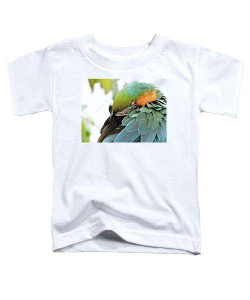 Shy Macaw Toddler T-Shirt