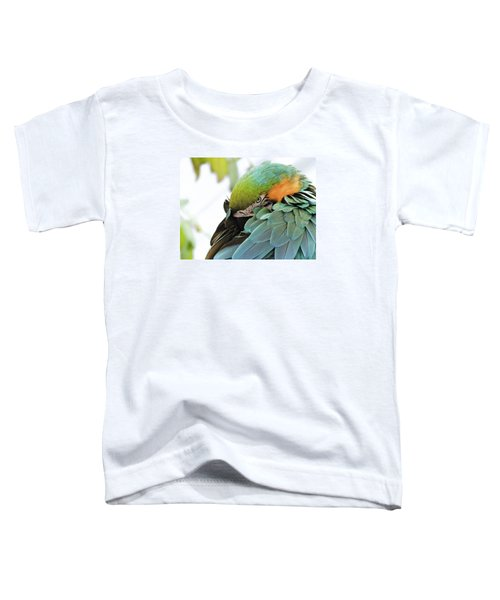 Shy Macaw Toddler T-Shirt
