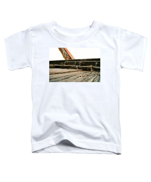 Side Of Rail #photography #trains Toddler T-Shirt