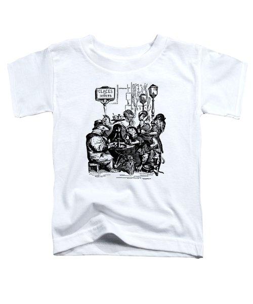 Sidewalk Cafe Grandville Transparent Background Toddler T-Shirt